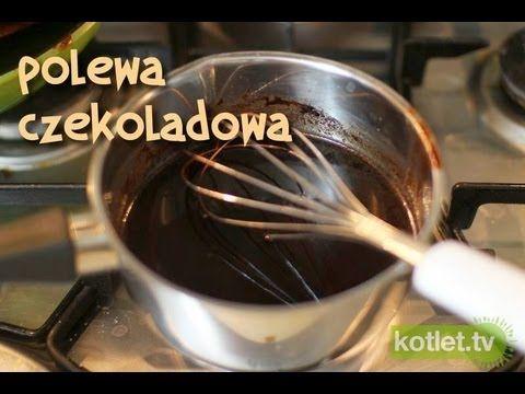 Polewa czekoladowa idealna przepis | Kotlet.TV