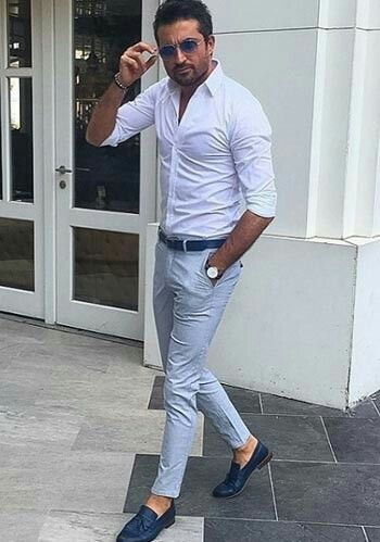 Pin by badesire on mode homme pinterest guy outfits for Best mens dress shirts under 50