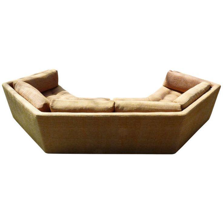 Vladimir Kagan Sofa. Perfect for the theater room.