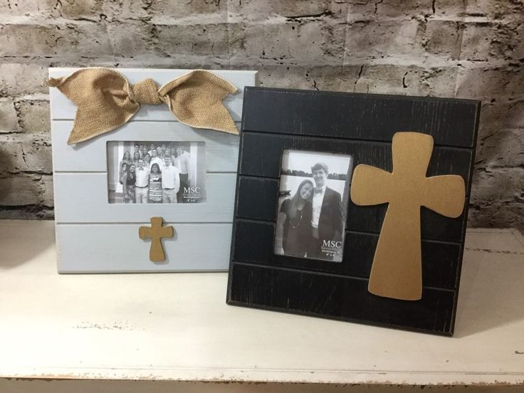 Mainstreet Collection Cross Inspirational 4x6  Picture Frame Gift Set New #MainstreetCollection