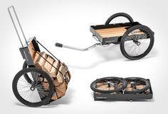 bike trailer - transformer