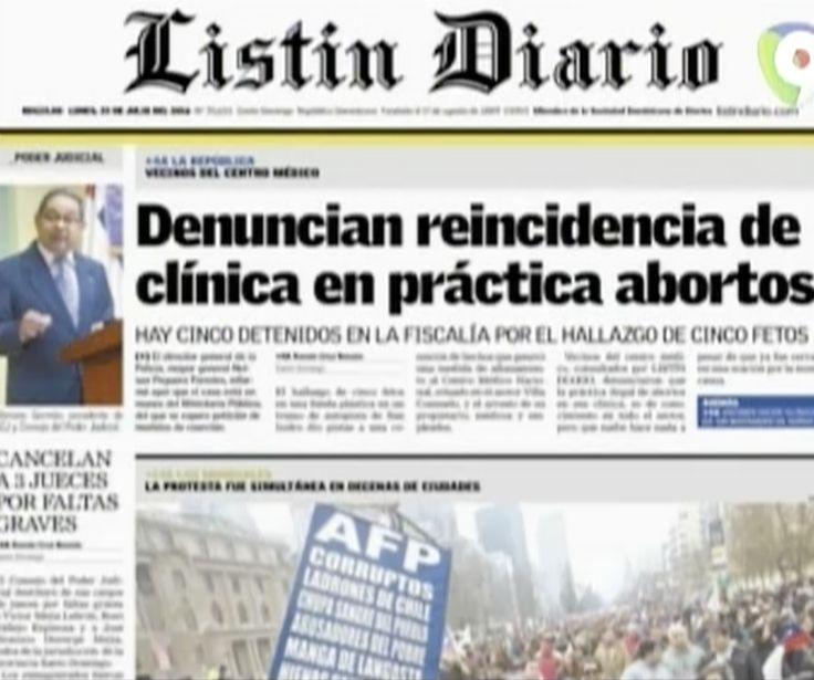Las Noticias De Los Principales Periódicos Nacionales En Hoy Mismo