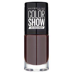 Maybelline Color Show Nail Polish Burgundy Kiss 357