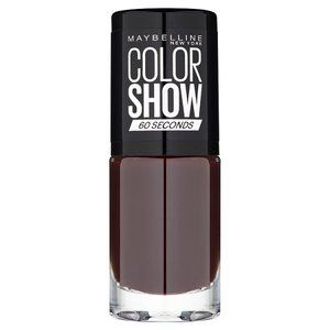 Maybelline Color Show Nail Polish Burgundy Kiss 357