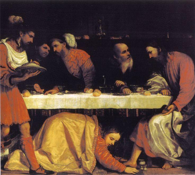 Romanino,_cena_in_casa_del_fariseo,_san_giovanni_evangelista,_brescia.jpg (1269×1145)