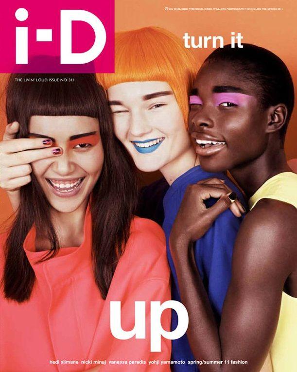 i-D magazine #311 promoting the one eye thingie again