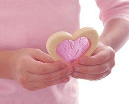 cute valentine's day idea ... to make it GF, use: http://www.bettycrocker.com/recipes/sugar-cookies-gluten-free/f607fd69-55c5-48ef-98ab-207082fbb376
