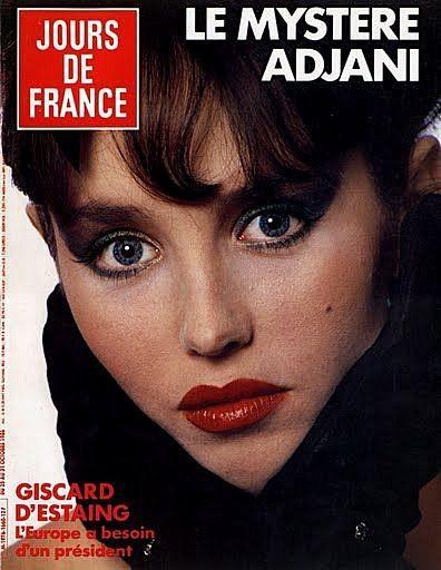 Изабель Аджани на обложках журналов – 450 фотографий