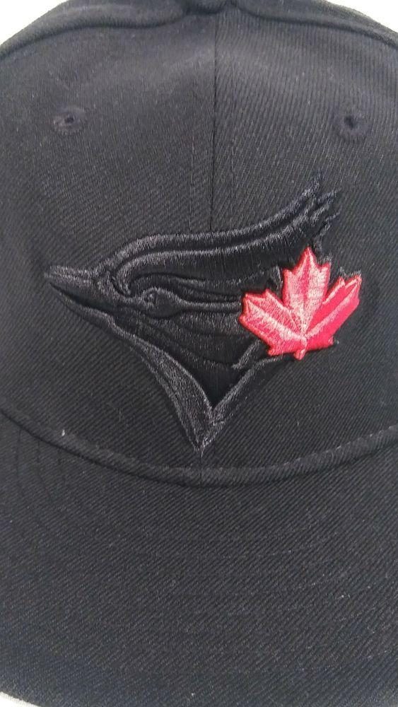 24724cef6 Toronto Blue Jays New Era MLB Blackout 59FIFTY Cap size 6 7/8in 100 ...