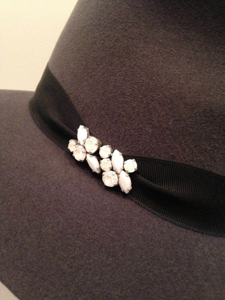 #AW16 #sampling #penmaynestudio #embellishment #beading #white #metallics #inspiration #hats #fedora #trilby #luxury #accessories