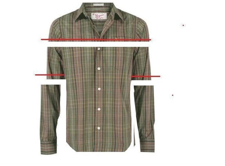 Peasant Top From Men's Button Up Shirt ∙ How To by Maribug on Cut Out + Keep