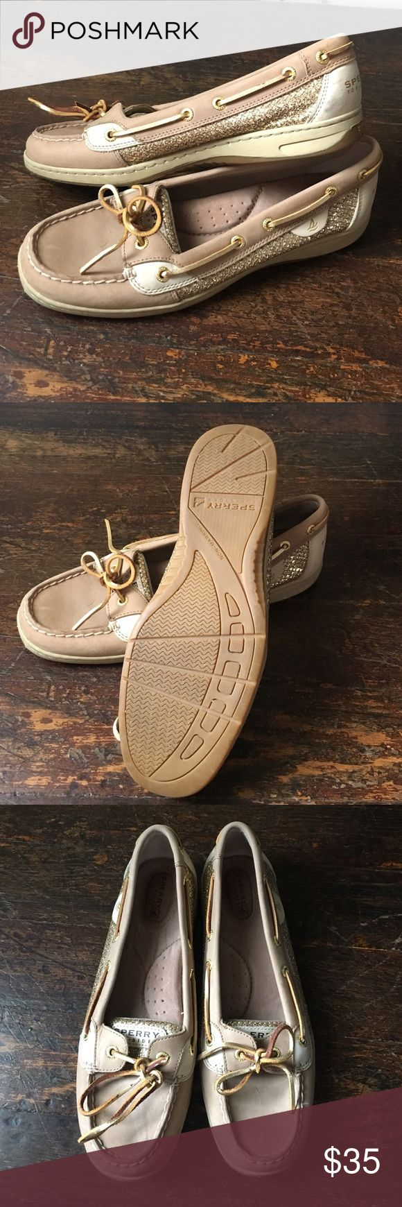 NWOT Sperry Boat Shoes NWOT leather Sperry loafers with golf detailing. Sperry Shoes Flats & Loafers