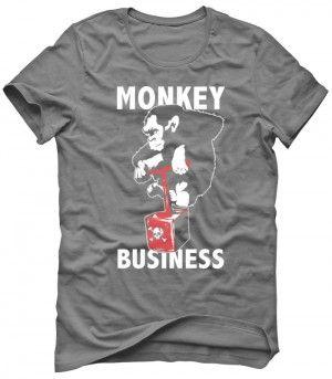 MONKEY BUSINESS Koszulka Tshirt Bluza Męska Damska