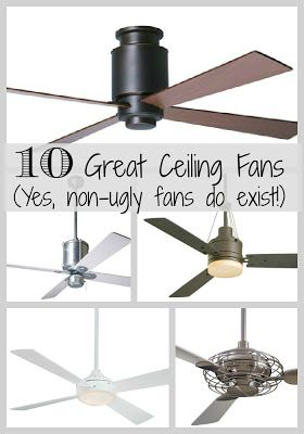 Amazing Havens South Designs :: Ten Great Ceiling Fans