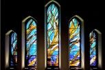 Stained glass 15' x 20' Christ Church Cathedral
