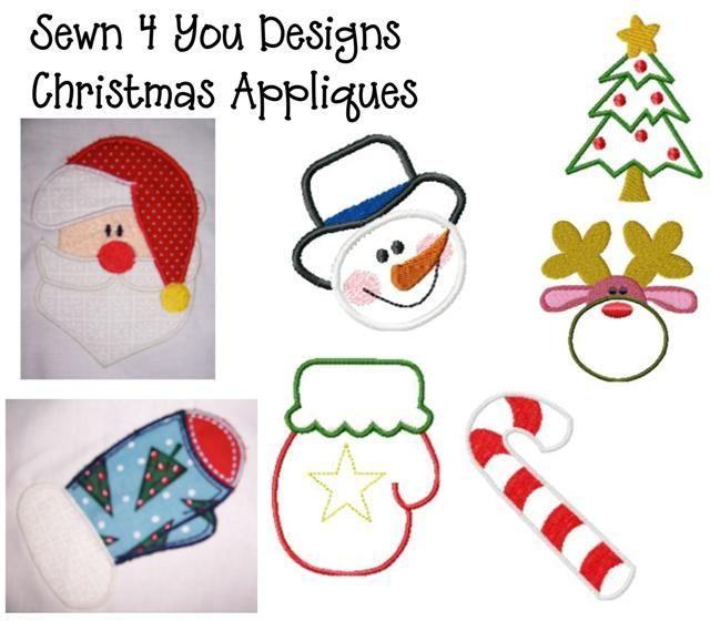 Free Applique Designs For Christmas