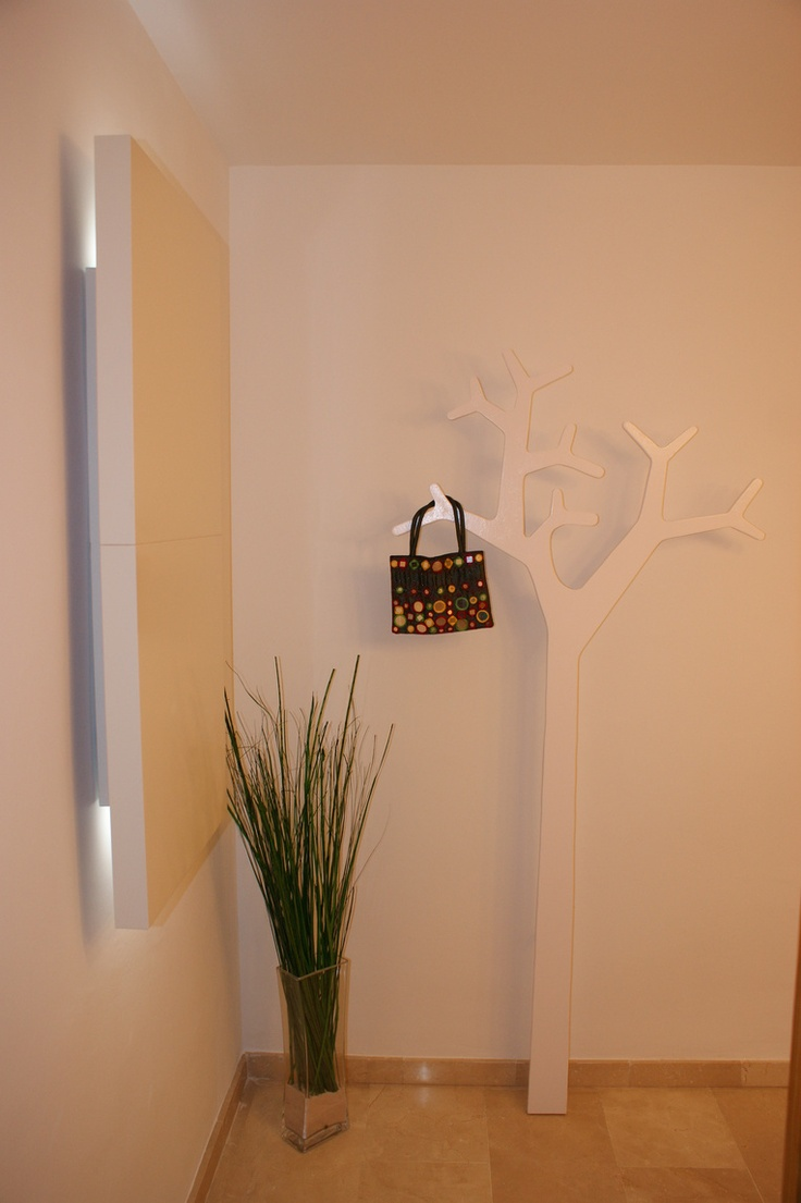 Cómo se hace el perchero árbol imitación Swedese de MiriaM : x4duros.com