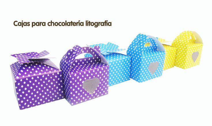 Empaques para tus Chocolates...