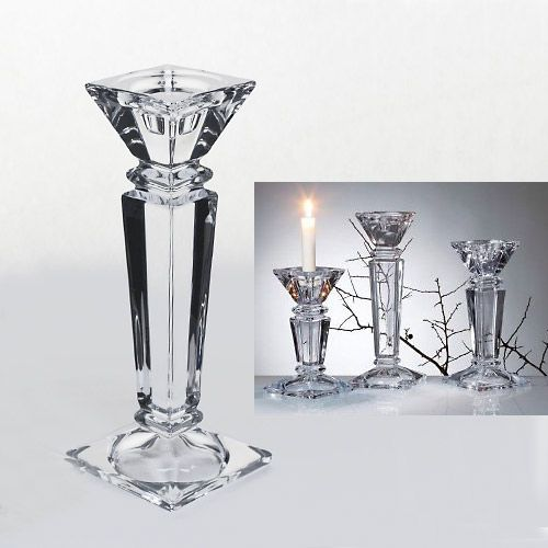 ŚWIECZNIK kryształowy a\'la Bohemia EXCLUSIVE GLASS