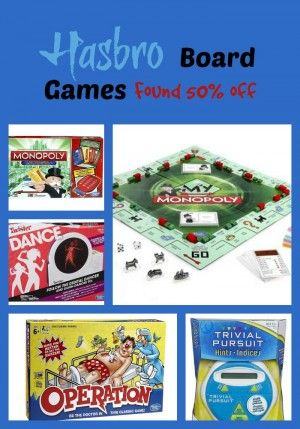 Canada Deals! Find Great Board Games at over 50% off or close to 1/2 off. Great money saver for those that buy board gaes as gifts #Hasbro #board #game #canada