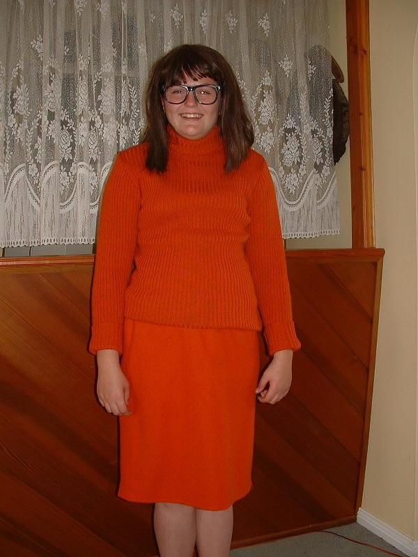 1970's - Valma - scooby doo - Available for hire in  size 14