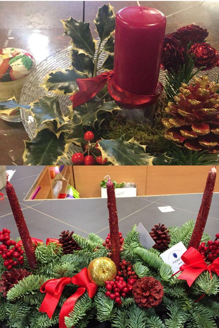 Composizioni floreali per il tuo Natale: le mille idee di Fiorito! #Natale #composizionifloreali #centrotavola #decorazioni #atmosferanatalizia #idee #Fiorito