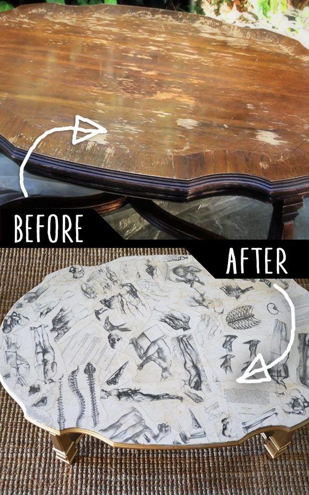 diy furniture makeovers refurbished