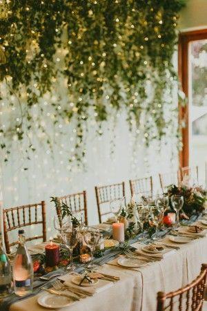 art nouveau Irish mansion wedding reception - photo by Paula O'Hara