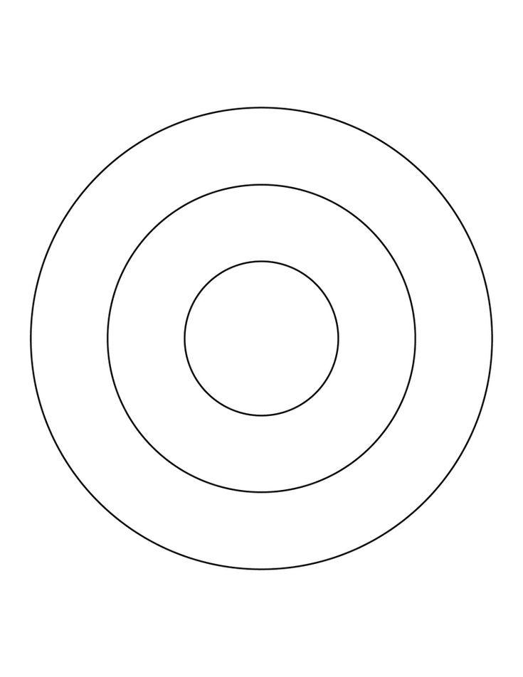 3 concentric circles