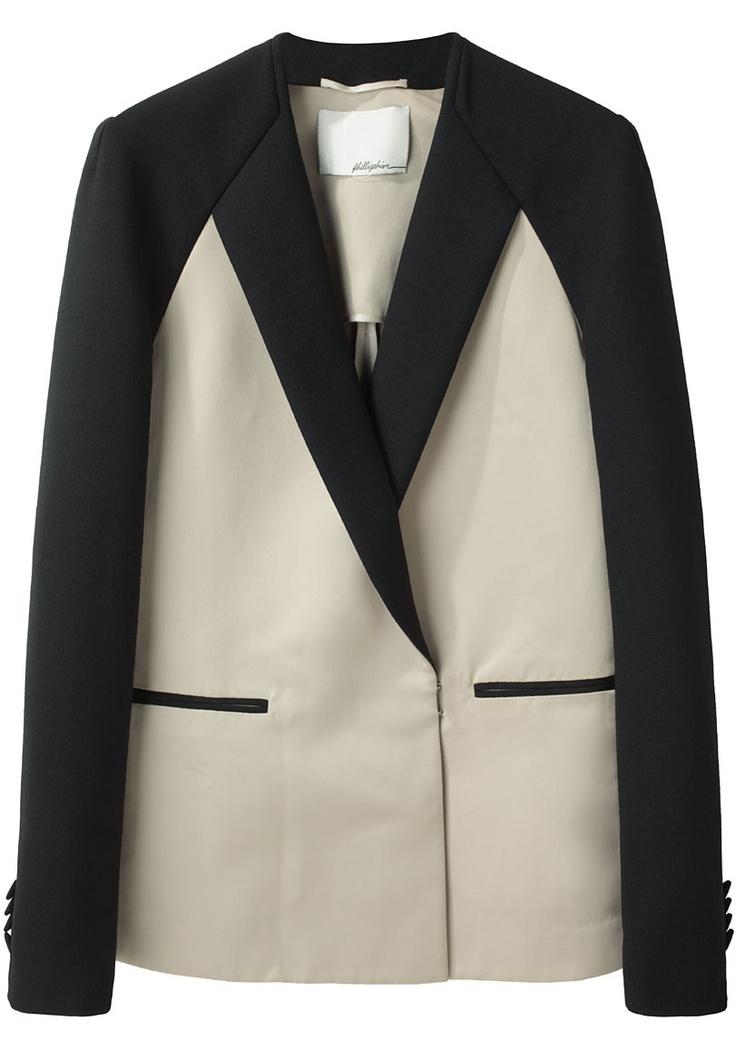 3.1 Phillip Lim / Raglan Tuxedo Jacket