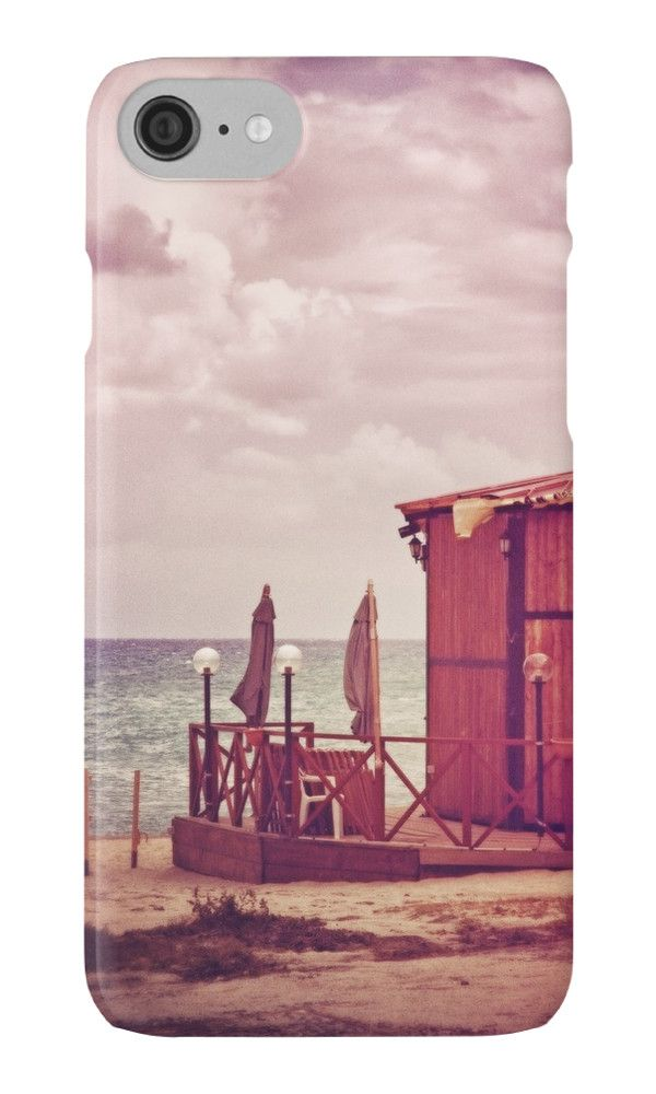 End of Summer by Silvia Ganora - #phonecases #iphonecases #galaxycases #sea