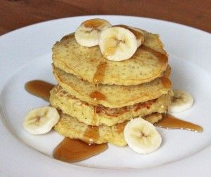 Quinoa Pancakes and more quinoa breakfast recipes on MyNaturalFamily.com #quinoa #breakfast #recipe