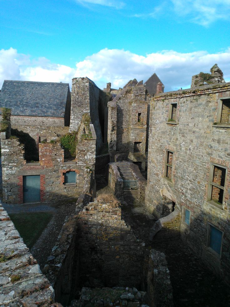 Charles Fort - derelict buildings within the fort