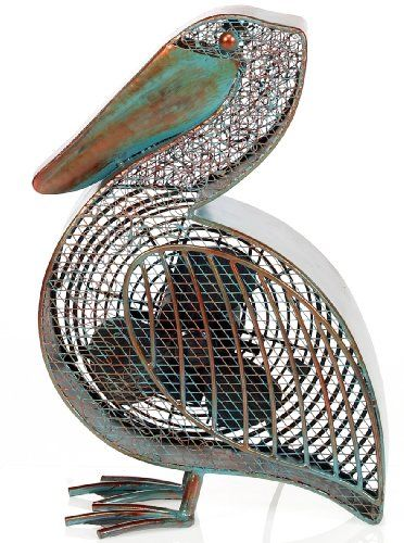 We actually already have this fan! Deco Breeze DBF0366 Cast-Metal 16-1/2-Inch Pelican-Shaped Decorative Fan #LGLimitlessDesign #Contest