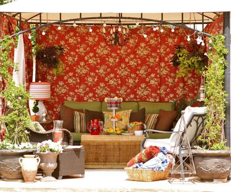 The Goodwill Gal's backyard gazebo!