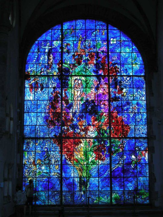 marc chagall stained glass window