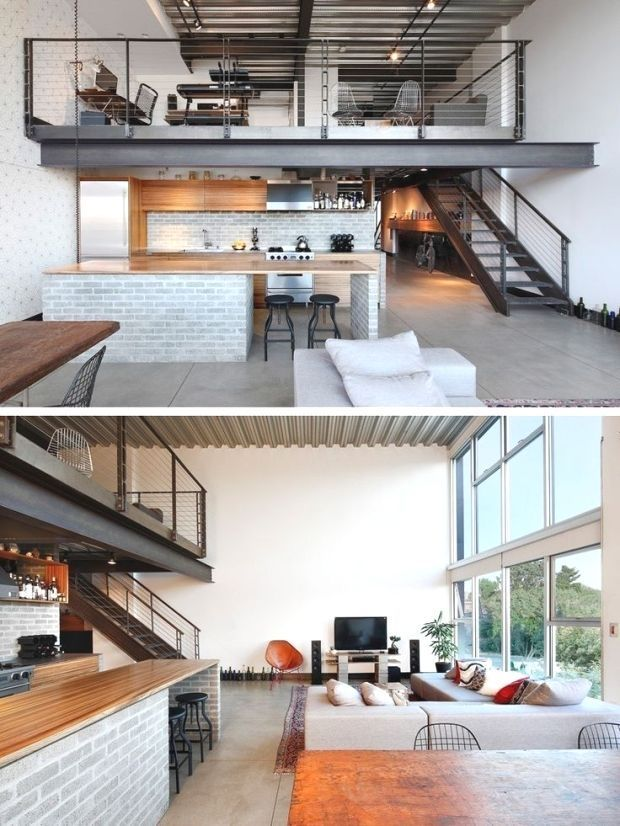 20 Diy Design How To Build A Mezzanine Floor Ideas At Cost Pinmode 20 Diy Design H In 2020 Modern Farmhouse Interior Design Farmhouse Interior Design Loft Design