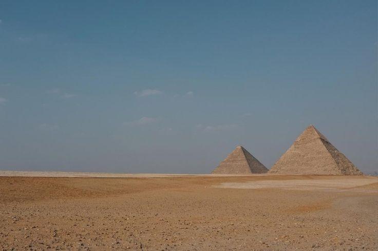 Die Pyramiden von Gizeh als eines der Top Urlaubsziele