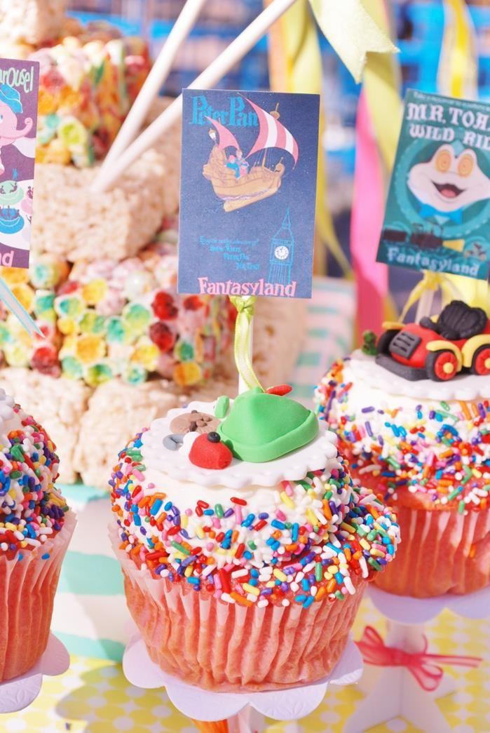 Vintage Disneyland Party Planning Ideas Supplies Birthday Idea Decor