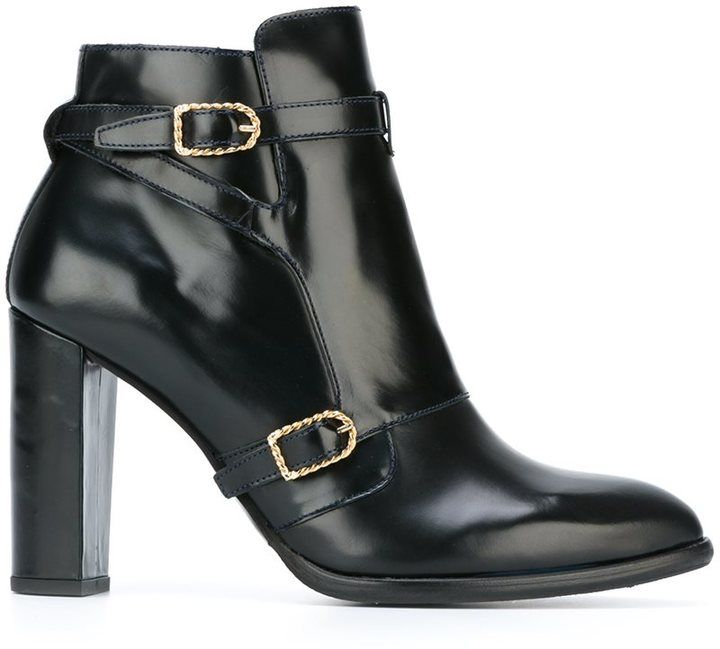 Tommy Hilfiger Tommy x Gigi Hadid buckle detail ankle boots ($244.82) // as seen on Gigi Hadid at the launch of her 'Tommy X Gigi collection' in Tokyo on October 12th, 2016.