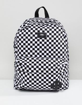 cb8231cd92 ... huge discount 7b356 0fdc8 Image 1 of Vans Old Skool Ii Backpack In  Checkerboard ...