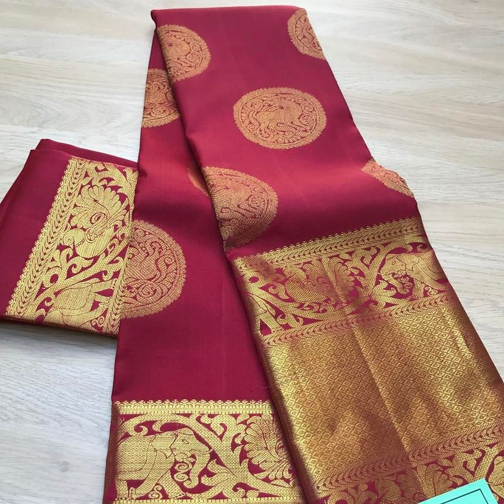 "341 Likes, 13 Comments - Casipillai Designer Collection (@casipillaidesignercollection) on Instagram: ""Saree in stock Every Kanchipuram silk saree is amongst the most superior silks in the world…"""
