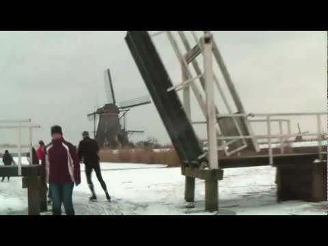 Sfeerimpressie van de Molentocht zoals geschaatst op 9 Februari 2012