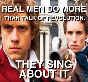 SO YOU WANT A REVOLUTION WEEEELLL YOU KNOW WE ALL WANNA CHANGE THE WORLD! -The Beatles