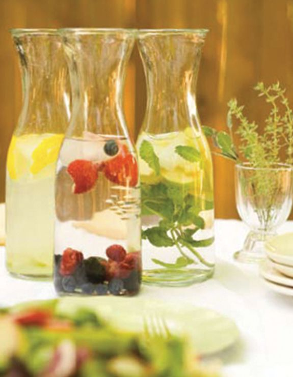 factory coach online Infused waters  Party idea