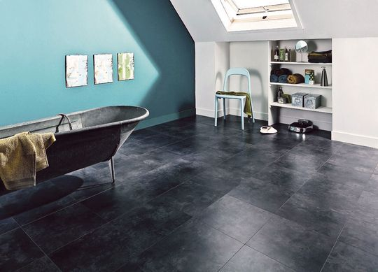salle de bains 11 rev tements de sol hyperlook s grey