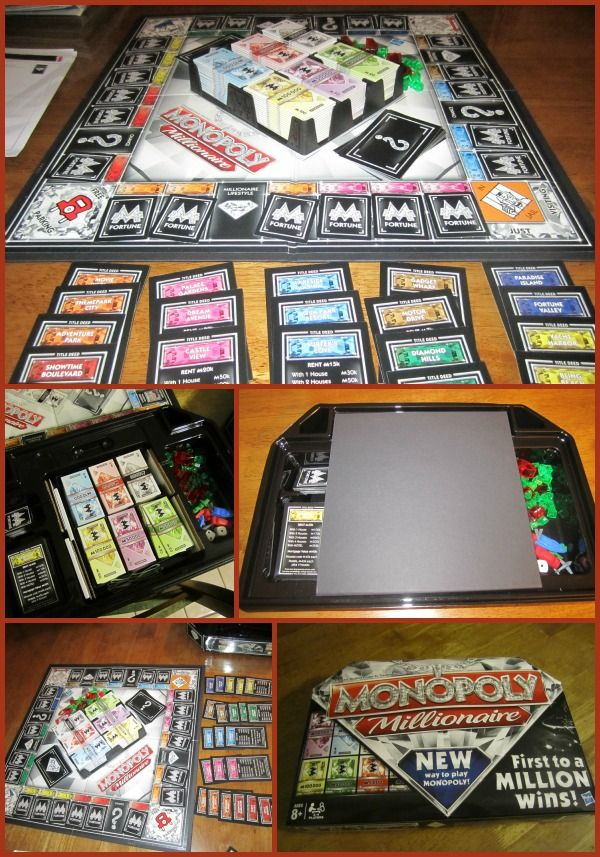 game night with monopoly