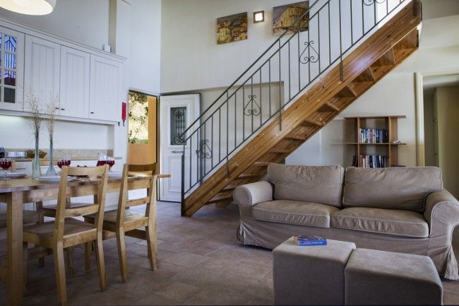 On entering the double height, lounge, dining and kitchen area, first impressions are immediately enhanced by a number of attractive design features in the accommodation.