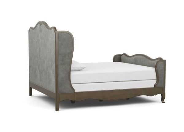 Beau Bed With Tall Footboard With Images Cal King Bedding Bed