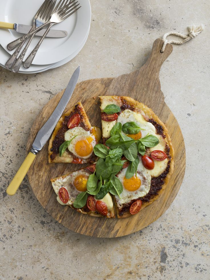 Breakfast pizza | Thermomix | Good food, gluten free